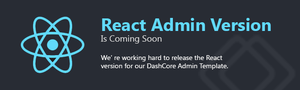 React is Coming